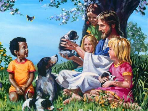 Jesus e as crianças - 1
