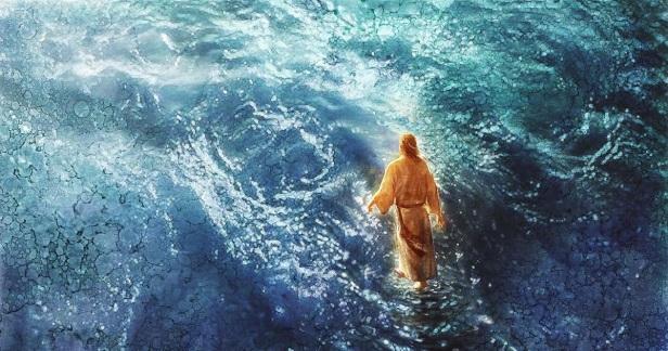 Jesus sobre as aguas Ia